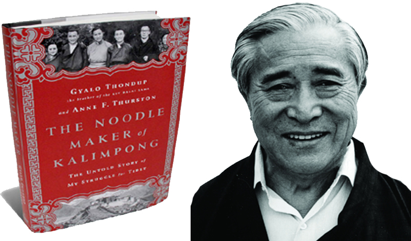 The Noodle Maker of Kalimpong, a new book on Tibet by Gyalo Thondup. Photo: Lhasa Daily
