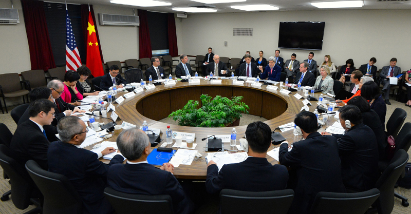 Secretary Kerry Gives Remarks at the U.S.-China Human Rights Dialogue in Washington DC. Photo: State Department