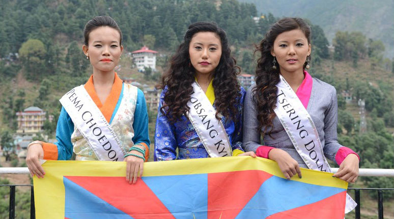 Miss Tibet Pageant 2015. Photo credits: MissTibet.com