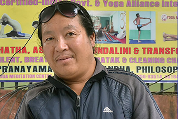 Former Tibetan political prisoner Topjor says his wish was and still is for a free Tibet. Photo: TPI/Dawa Phurbu