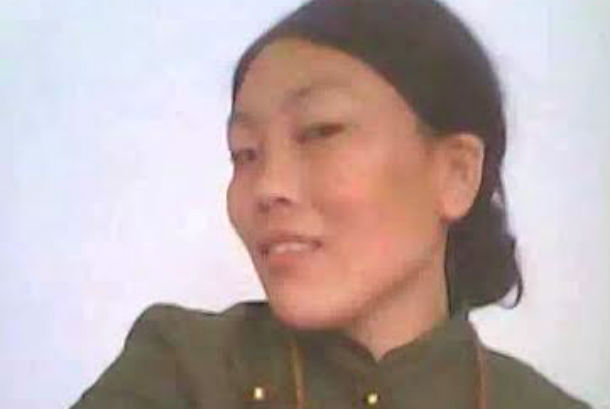 Sangye Tso, a 36-year-old Tibetan woman who died on Wednesday, in her self-immolation protest in Chone County, Amdo, Tibet. Photo: Lhasa Daily