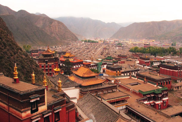 Labrang Monastery in Amdo Labrang County, north-eastern Tibet. Photo: Media File