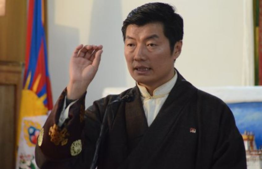 Dr Lobsang Sangay, Sikyong of the Tibetan Government-in-Exile. Photo: Lhasa Daily