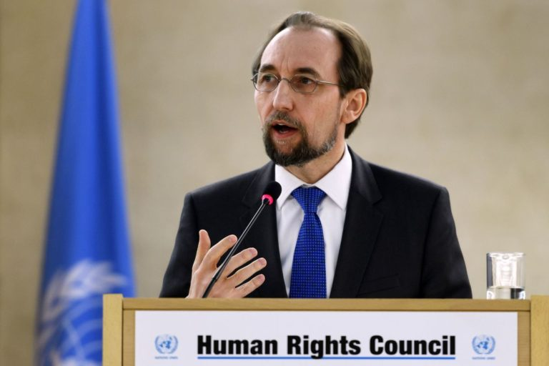 Prince Zeid Ra'ad al Hussein, the UN High Commissioner for Human Rights. Photo: File
