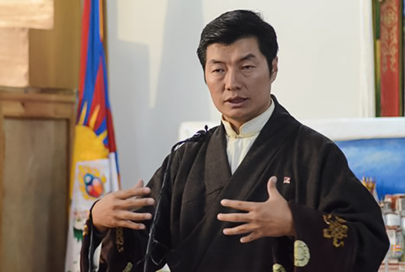 Dr Lobsang Sangay, the President of the Central Tibetan Administration. Photo: TNO