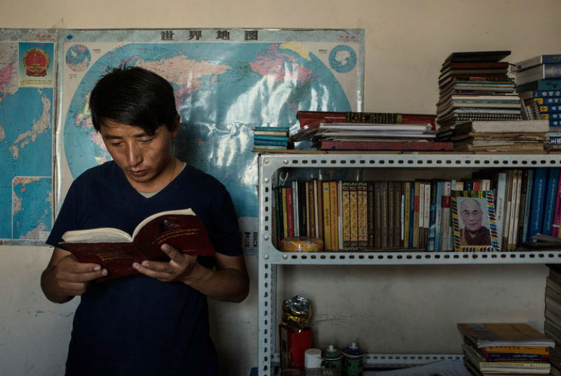 Tashi Wangchuk, a Tibetan-language advocate detained for two years in eastern Tibet pleaded not guilty in court to inciting separatism, a charge that could lead to 15 years in jail, according to his lawyers. Photo: File