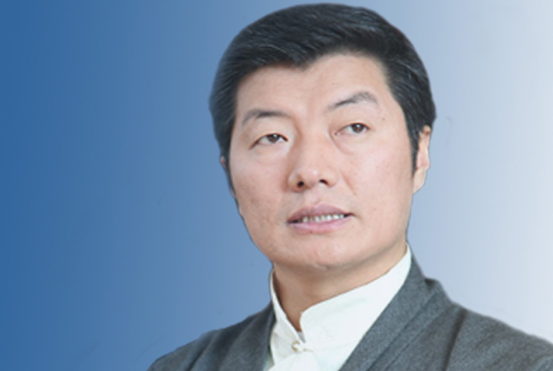 Dr. Lobsang Sangay became the first democratically-elected political leader of the Tibetan people