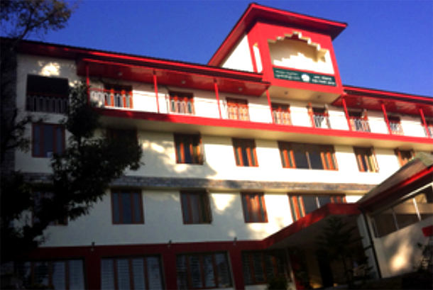 The new building of the Kashag of the Central Tibetan Administration, Dharamshala, India. Photo: File