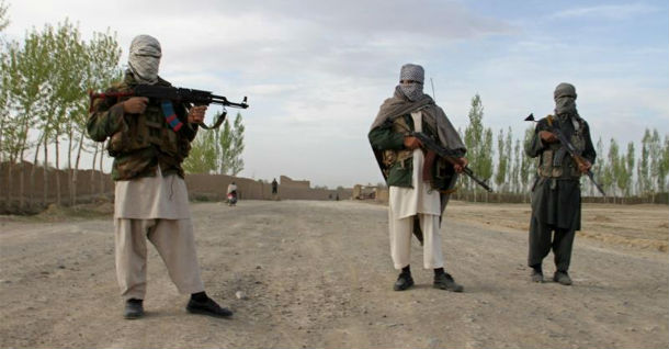 A file photo of Taliban fighters in Afghanistan's Ghazni province [Reuters]