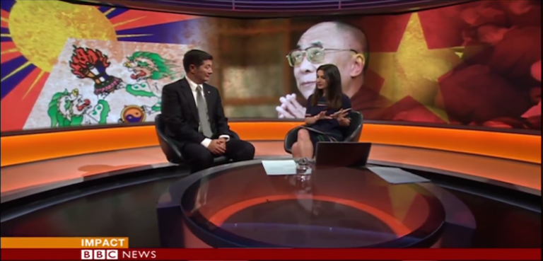 His Holiness is very healthy, is the best spokesperson, the best face for Tibetan Cause: Tibetan President to BBC World