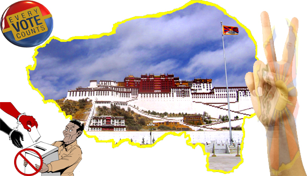 We must vote, while keeping struggle for freedom of Tibet alive, but not by a pressure of individual or group. Photo: TDN